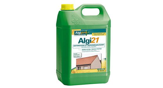 Traitement complémentaire de toiture Algi21 anti-mousse et imperméabilisant