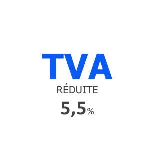 Taux de TVA réduit à 5.5 %