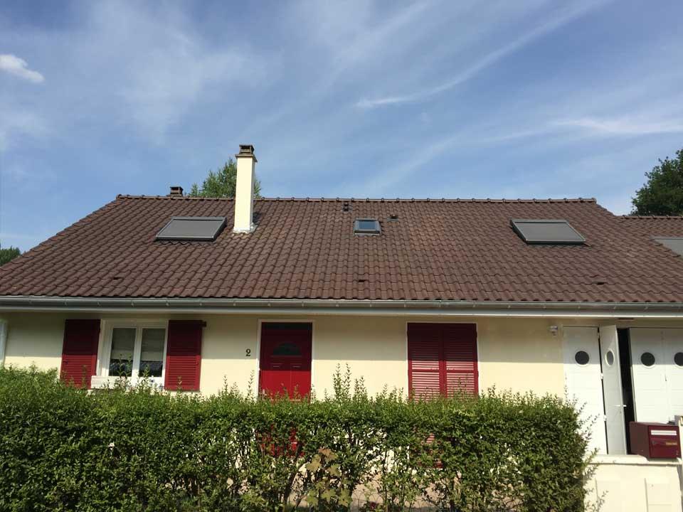 Pose de velux, stores et renouvelement toiture