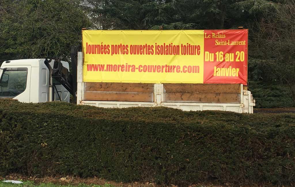 Couvreur MOREIRA 78 Journée portes ouvertes CHEVREUSE janvier 2018