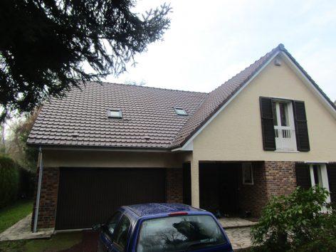 Réfection, isolation toiture, velux et bardages à Chevreuse