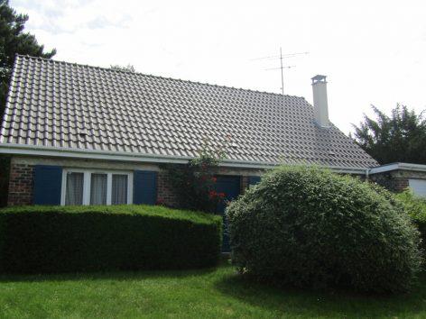 Réfection toiture et peinture cheminée au Mesnil Saint Denis