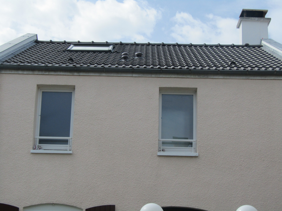 Réfection toiture villa Voisins le Bretonneux